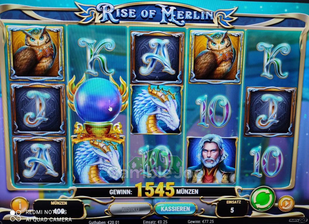 Rise of Merlin Gewinnbild von needle34