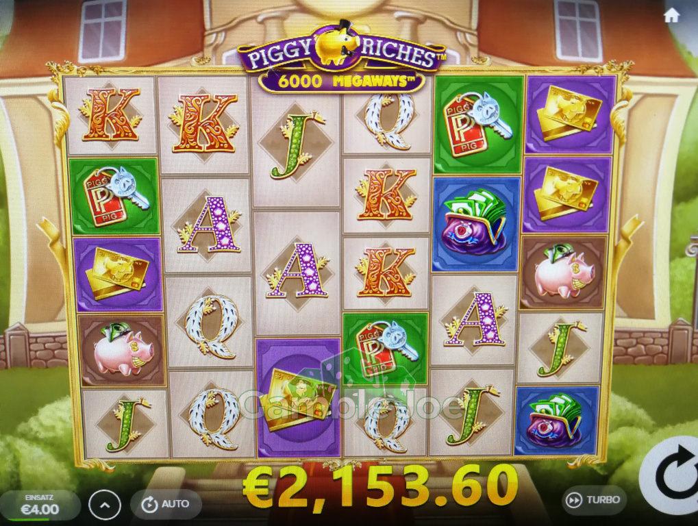 Piggy Riches Megaways Gewinnbild von KennyKenner