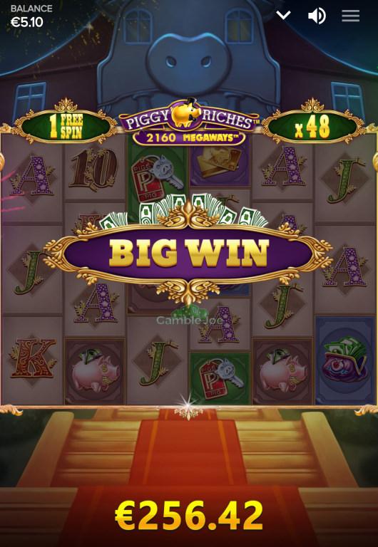 Piggy Riches Megaways Gewinnbild von Robsen473