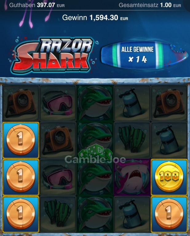 Razor Shark Gewinnbild von pawel_008