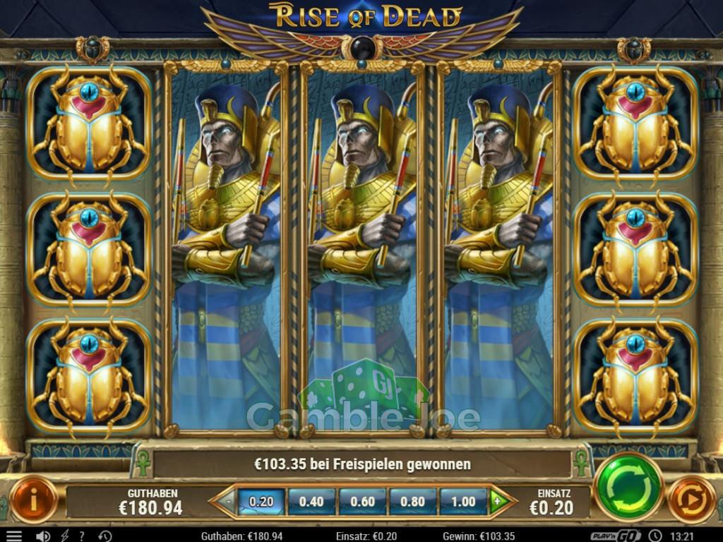 Rise of Dead Gewinnbild von Malganes