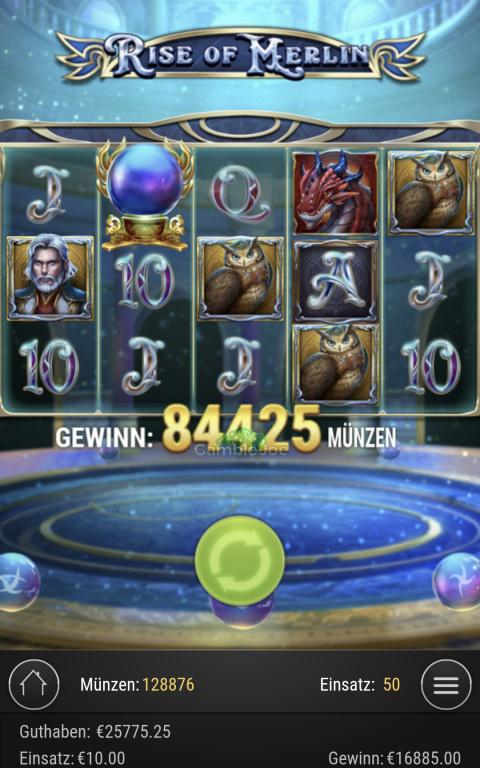 Rise of Merlin Gewinnbild von hilfemitoc