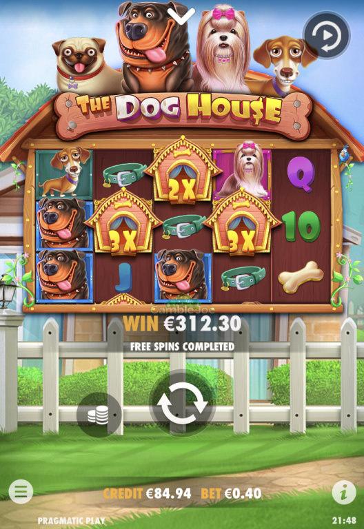 The Dog House Gewinnbild von GoodFellas
