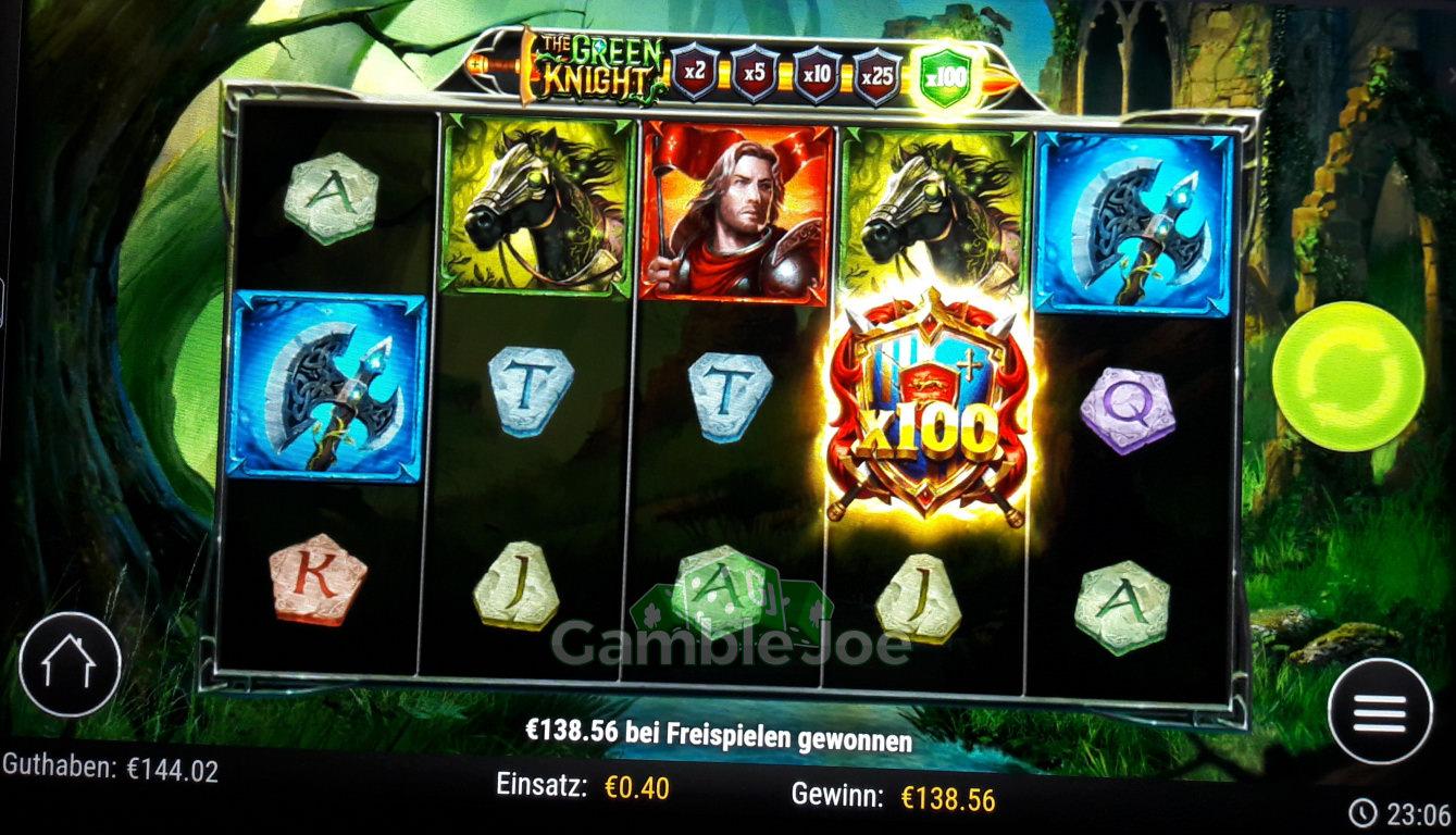 The Green Knight Gewinnbild von Klabisto