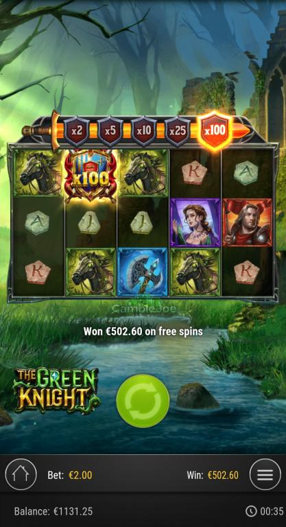 The Green Knight Gewinnbild von Schlumpi1010