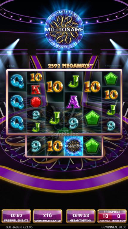 Who Wants to Be a Millionaire Gewinnbild von robby811