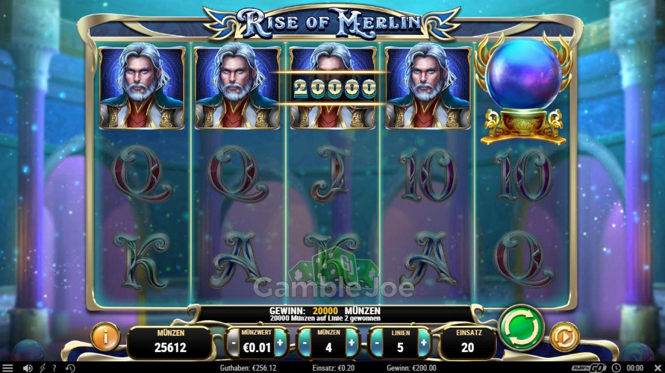 Rise of Merlin Gewinnbild von Slot_Star