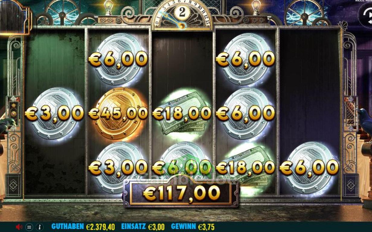 Cash-Elevator Gewinnbild von Chris26