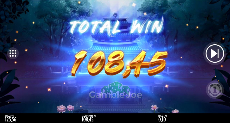 Jin Chan's Pond of Riches Gewinnbild von Sascha85