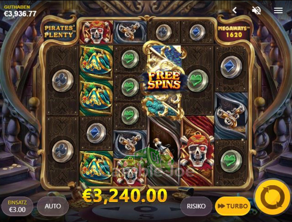 Pirates Plenty Megaways Gewinnbild von Chris26