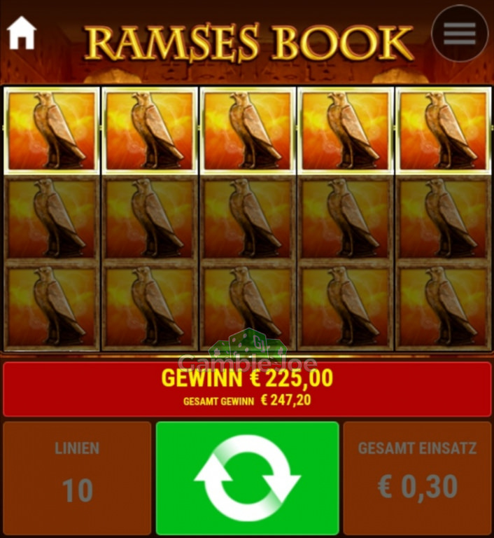Ramses Book Gewinnbild von Dude123