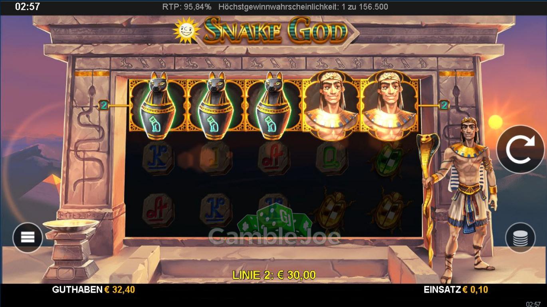 Snake God Gewinnbild von Metalmini