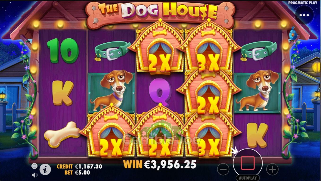 The Dog House Gewinnbild von Slothot