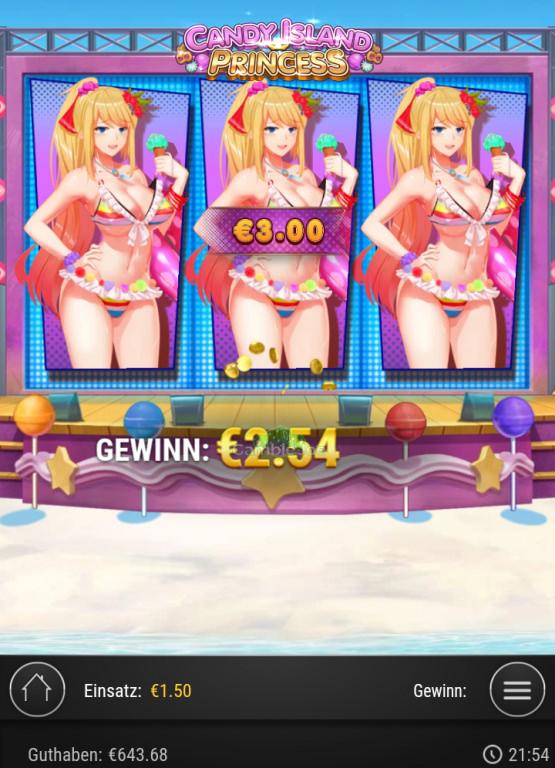 Candy Island Princess Gewinnbild von Angelo65