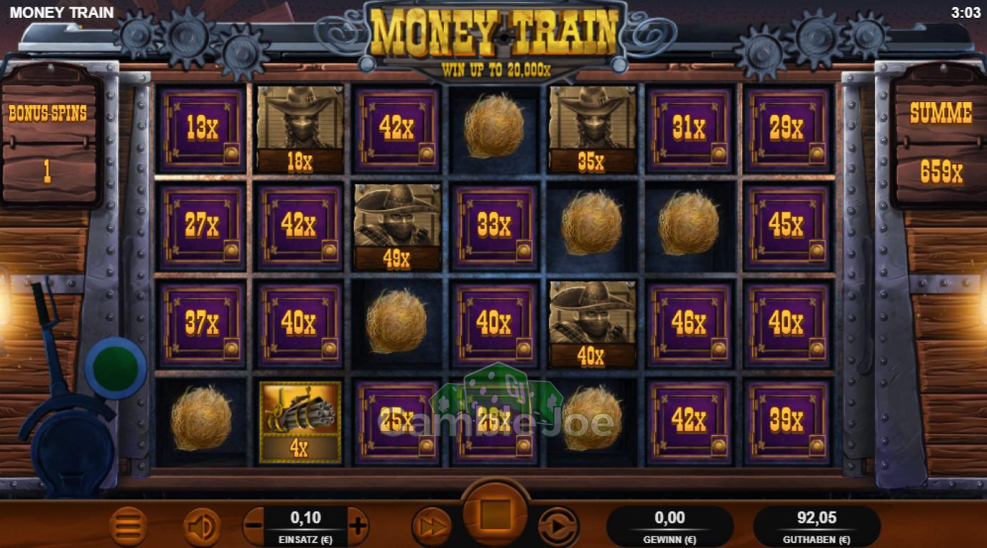 Money Train Gewinnbild von T****4