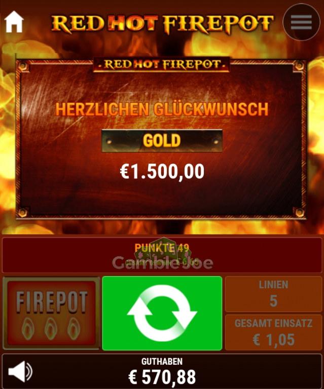 Ramses Book Red Hot Firepot Gewinnbild von T****4