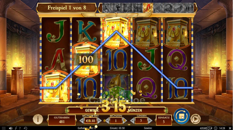 Legacy of Dead Gewinnbild von gamble1