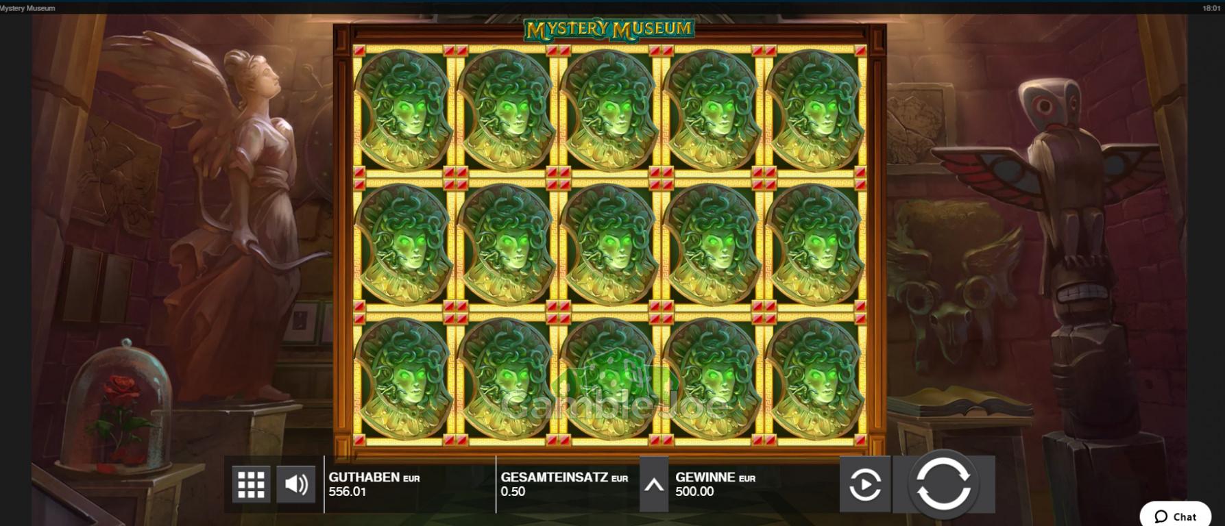 Mystery Museum Gewinnbild von GamblerNeuling