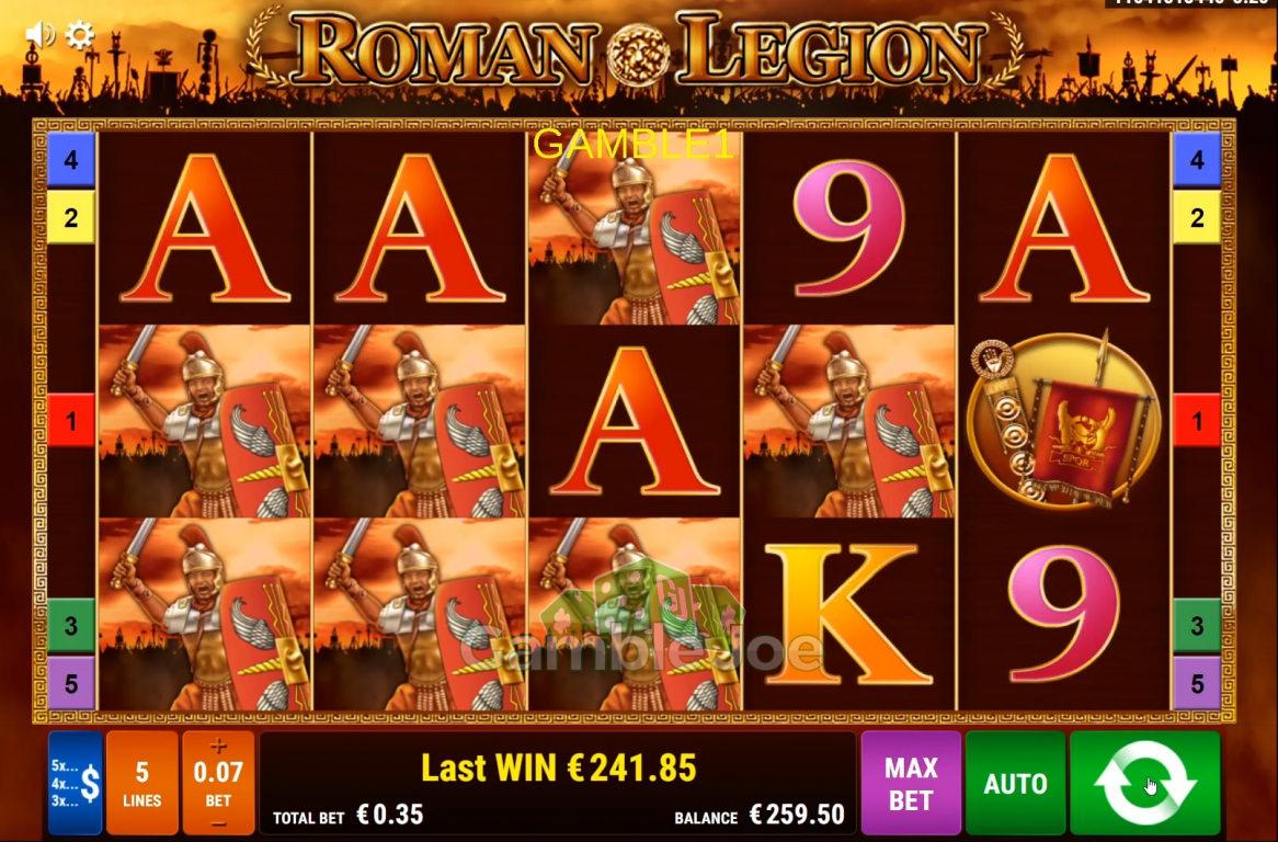 Roman Legion Gewinnbild von gamble1