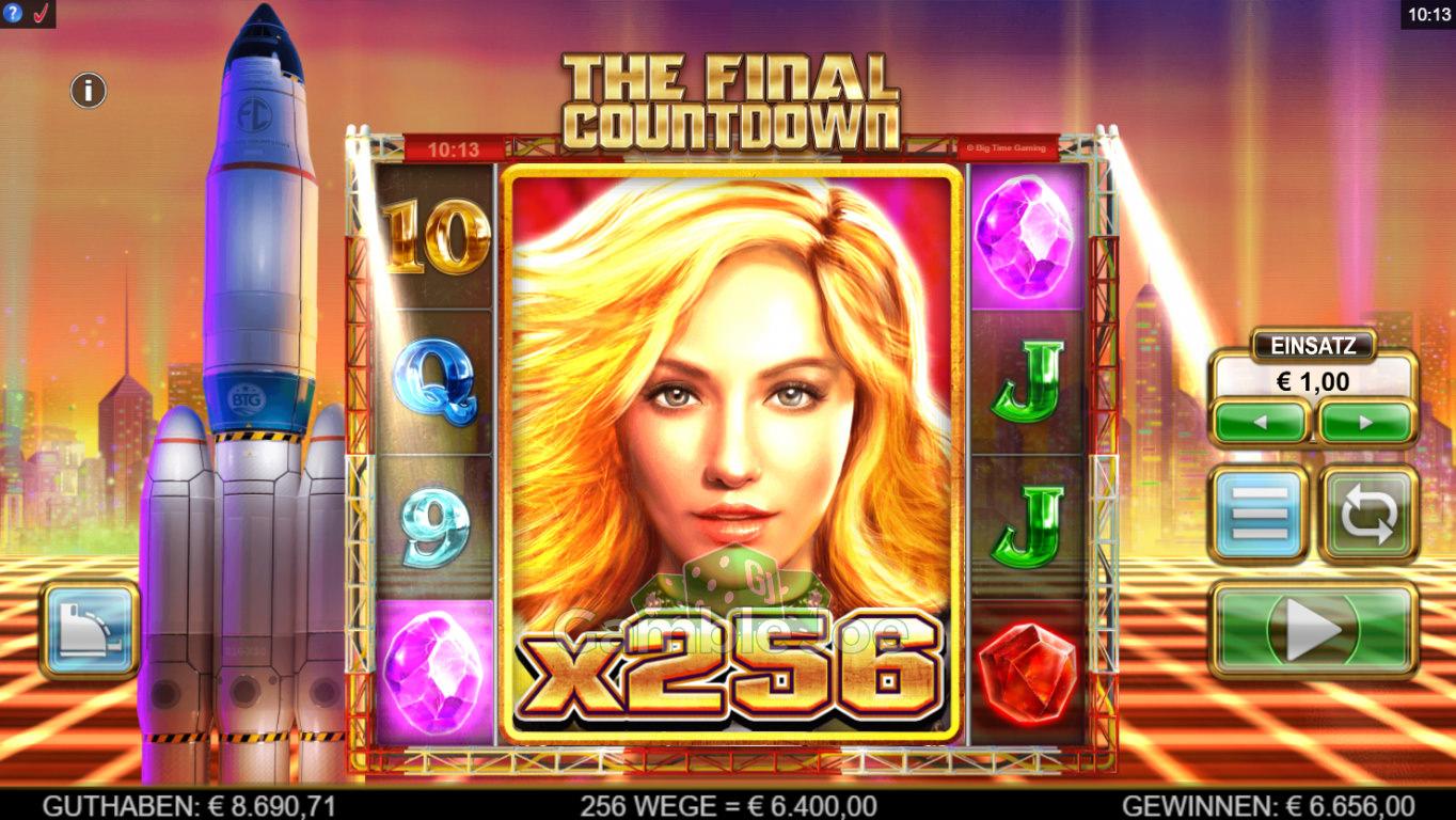 The Final Countdown Gewinnbild von xxjj19