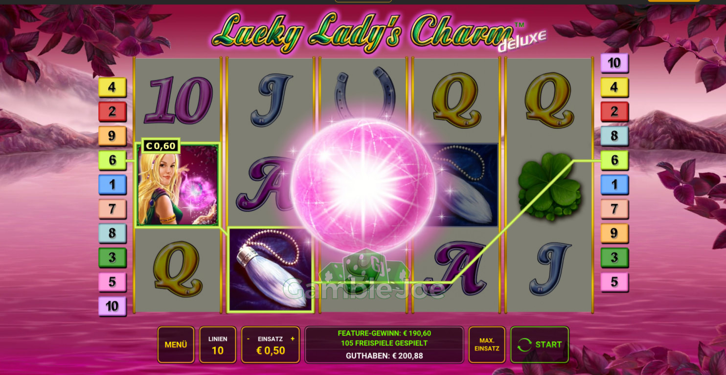 Lucky Lady's Charm Deluxe Gewinnbild von Herould