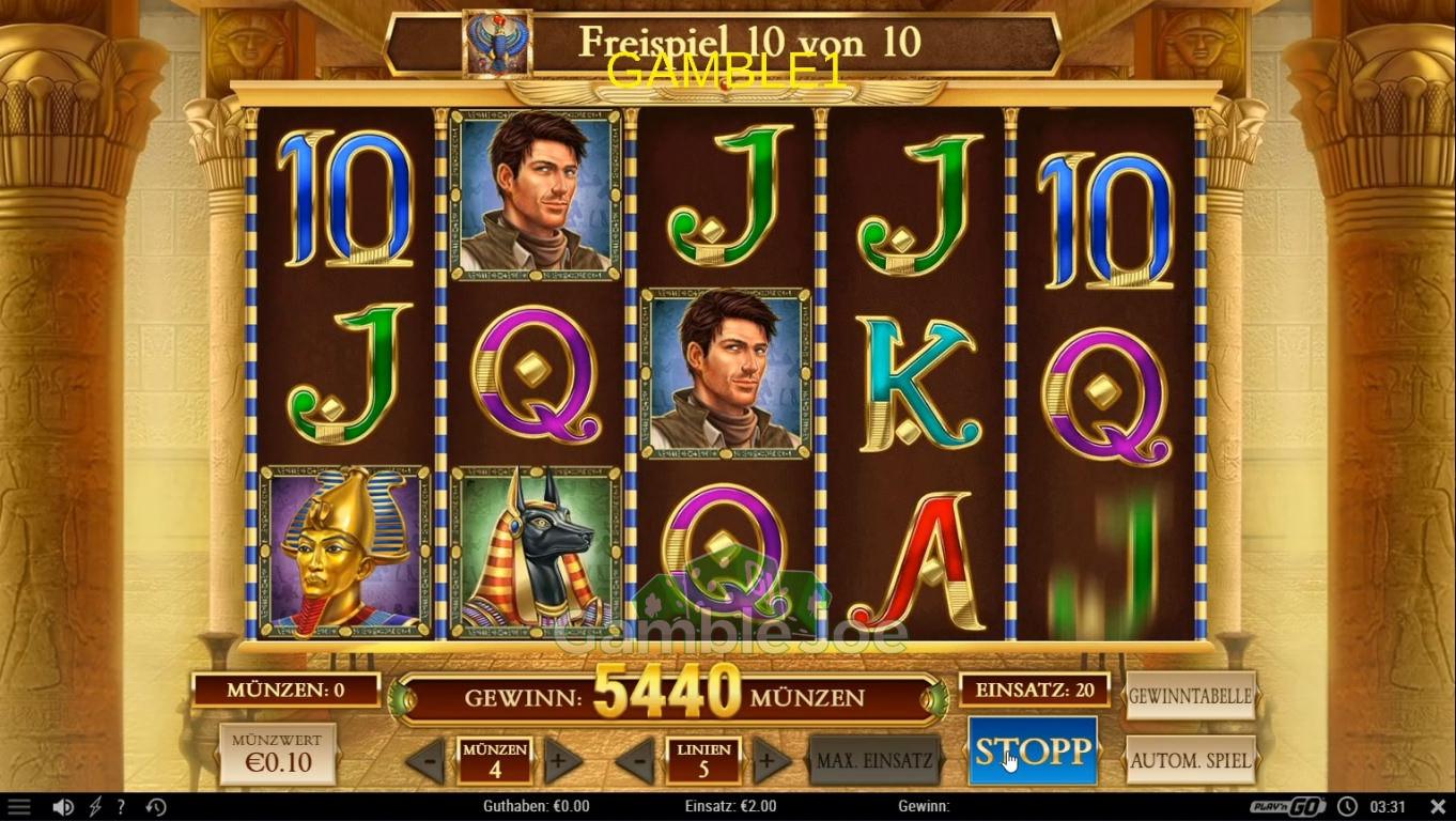 Book of Dead Gewinnbild von gamble1