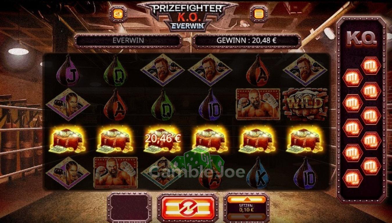 Prize Fighter K.O. Gewinnbild von Iseedeadpeople
