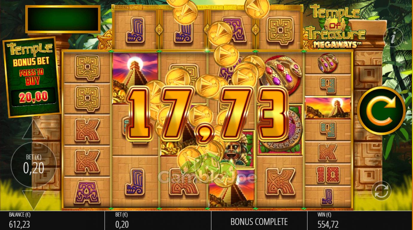 Temple of Treasure Megaways Gewinnbild von nadezhda8989