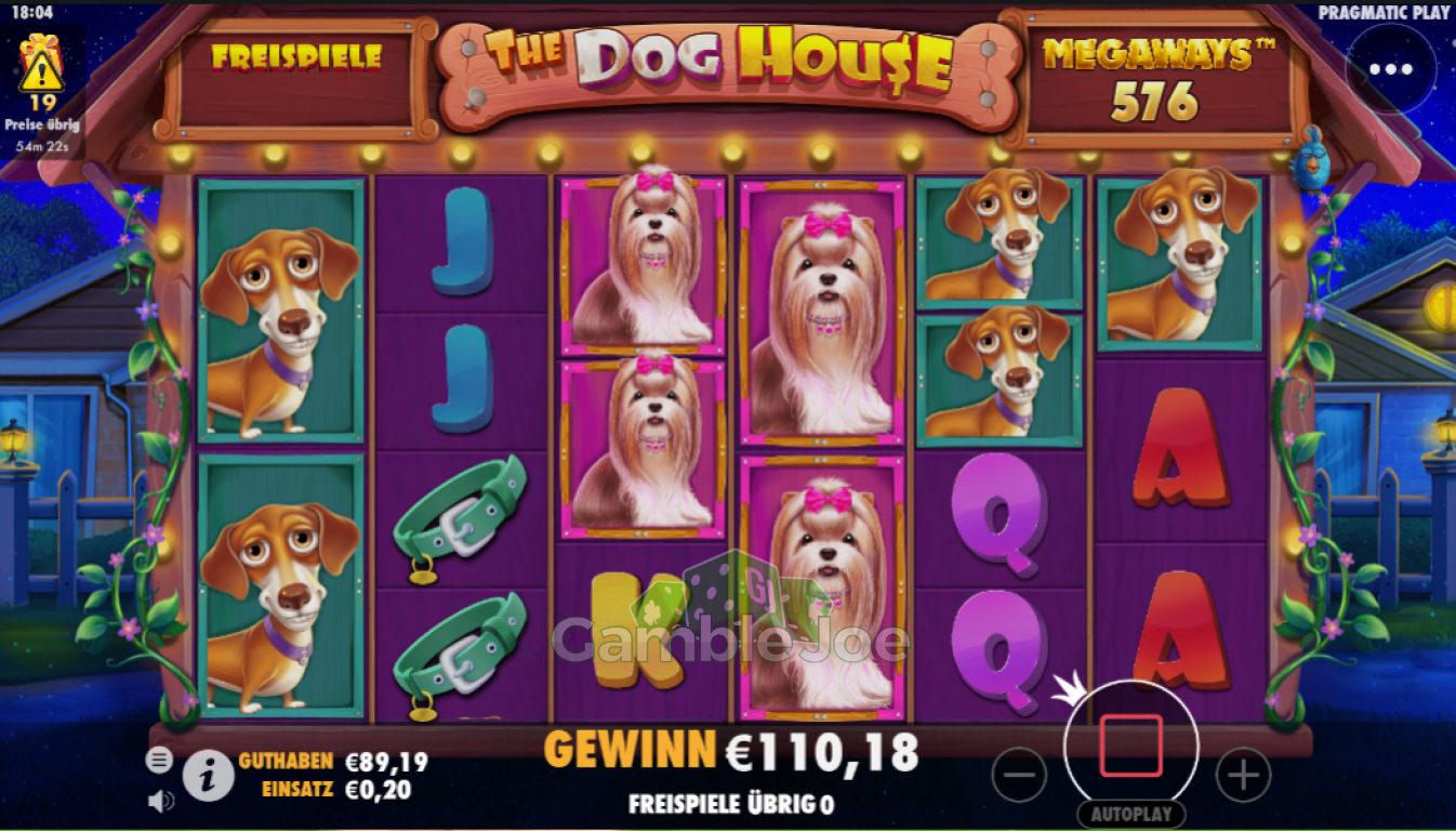 The Dog House Megaways Gewinnbild von Shox2k17
