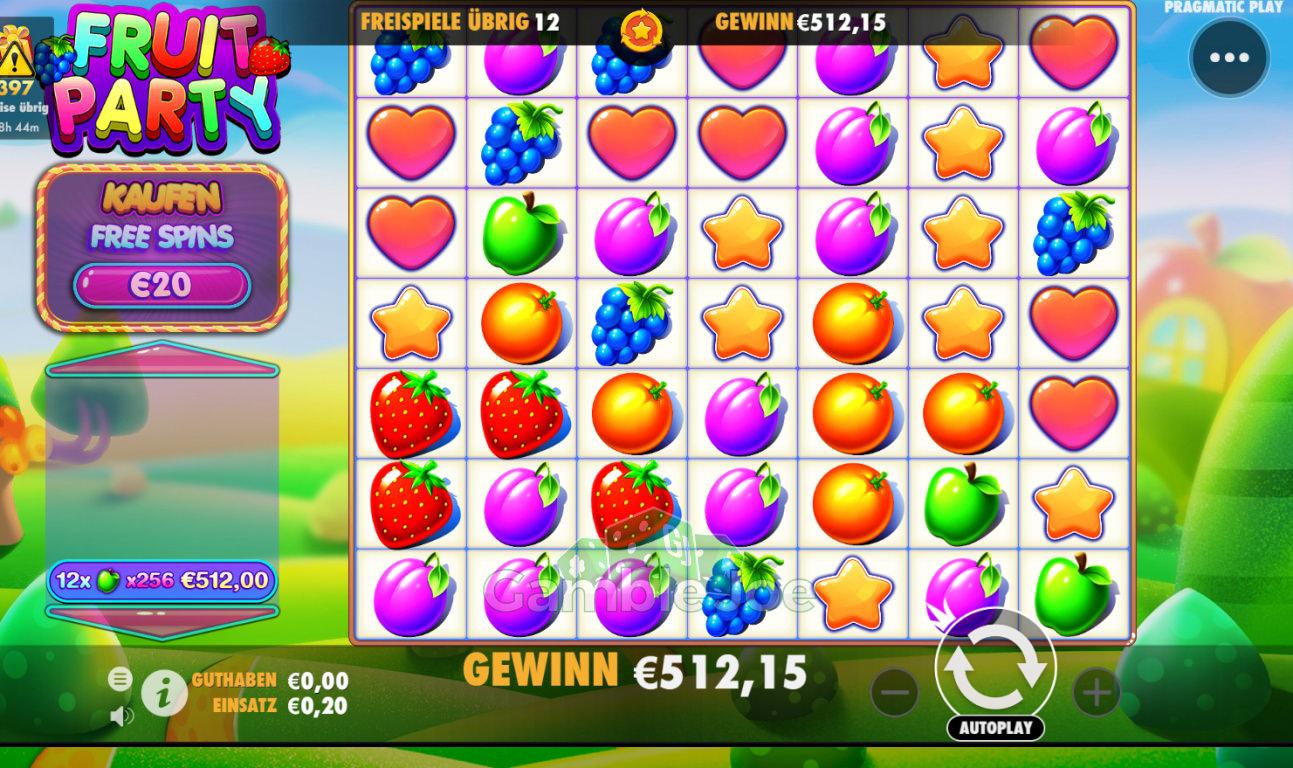 Fruit Party Gewinnbild von bobo80