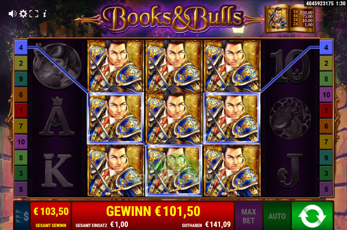 Books & Bulls Gewinnbild von Chiyo