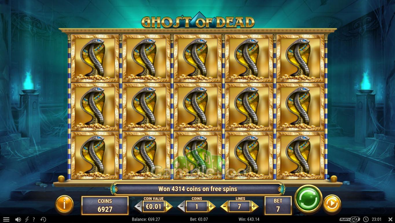 Ghost of Dead Gewinnbild von Andrenalin86