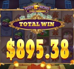 Piggy Riches Megaways Gewinnbild