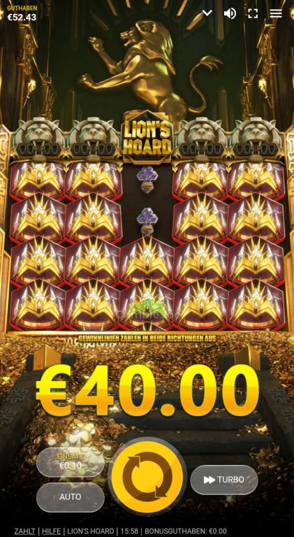 Lion's Hoard Gewinnbild von Jani13