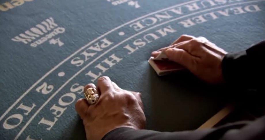 karten mischen wie im casino