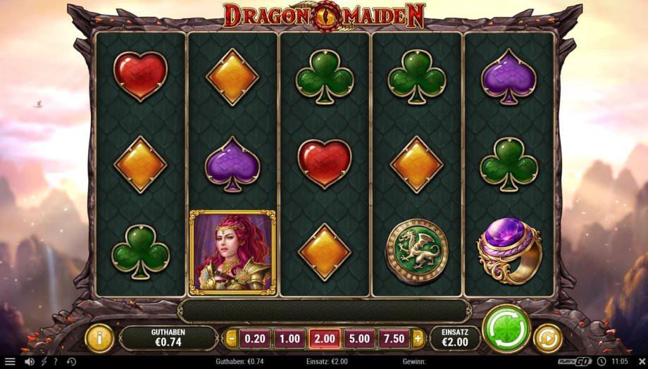 Neuer Play'n GO Slot Dragon Maiden