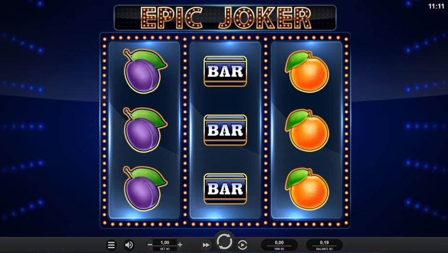 Neuer Epic Joker Slot von Relax Gaming