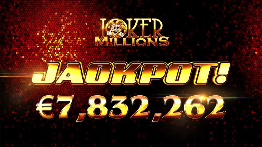 Joker Millions Jackpot Gewinn November 2018