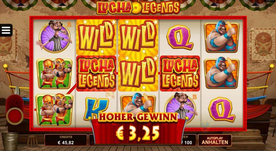 Lucha Legends - neuer Online Slot von Microgaming