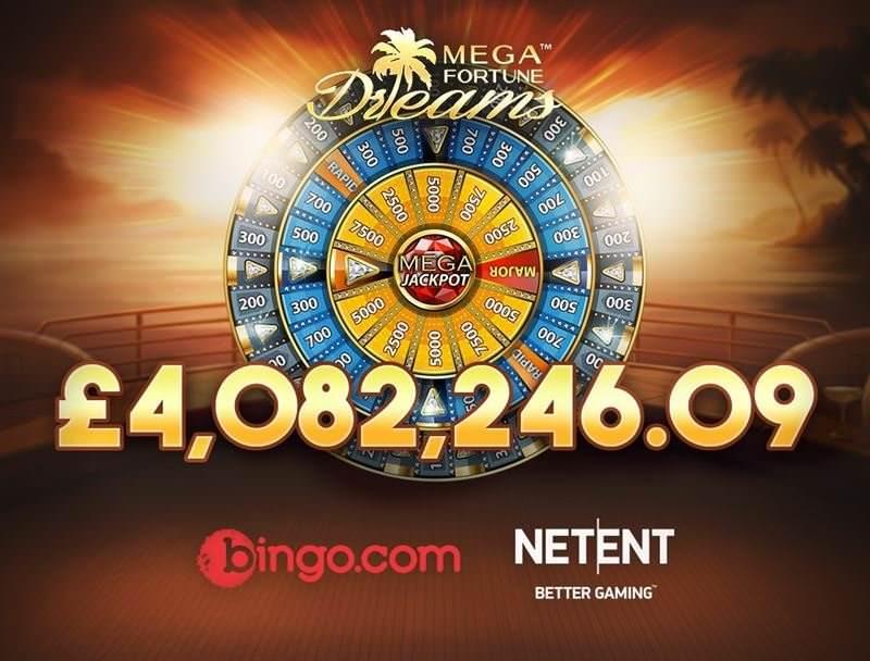 Gewinn bei Mega Fortune Dreams