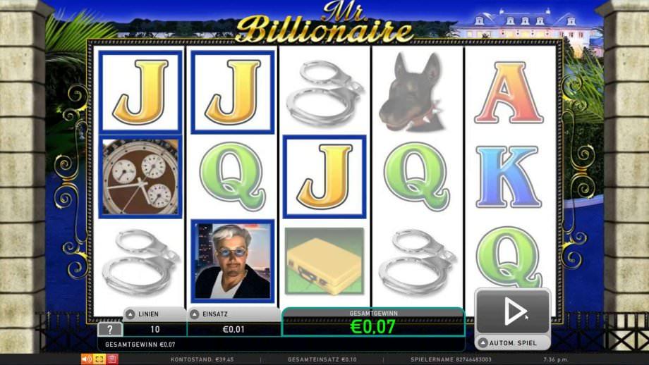 Slot Mr. Billionaire