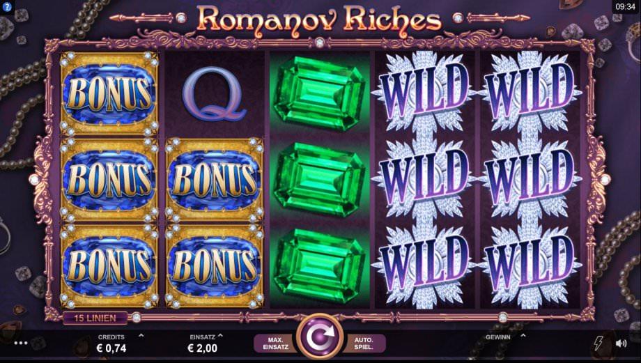 Romanov Riches der neue Microgaming Slot