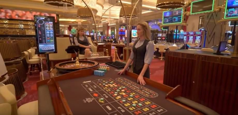 Innenbereich des Sotschi Casinos