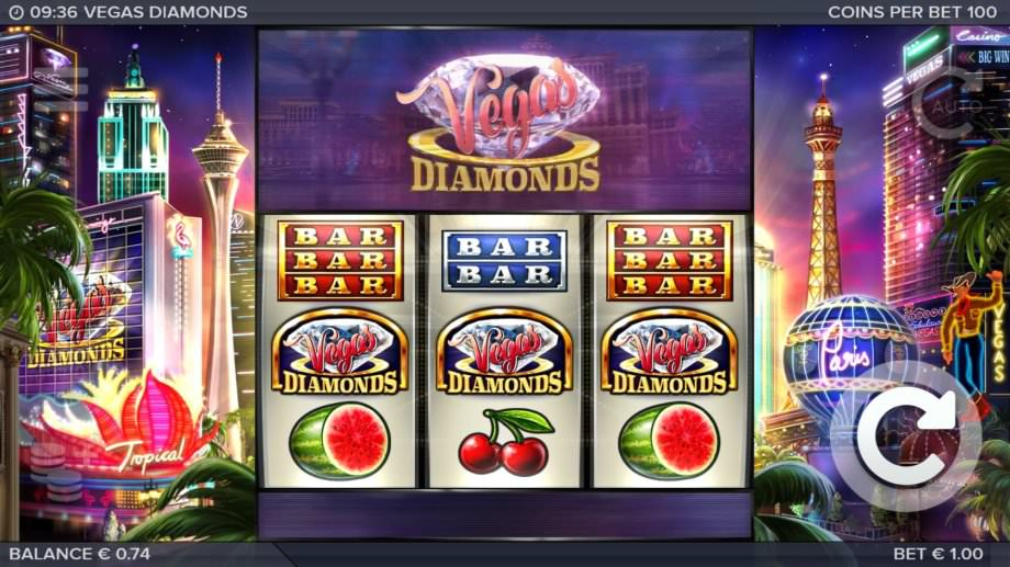 Vegas Diamonds der neue ELK Studios Fruit-Slots