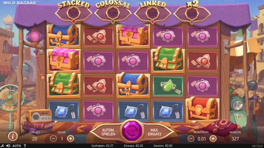 Neuer NetEnt Slot Wild Bazaar