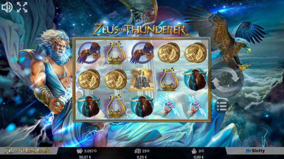 Zeus the Thunder von MrSlotty