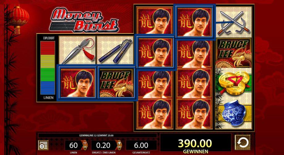 Bruce Lee Slots von WMS