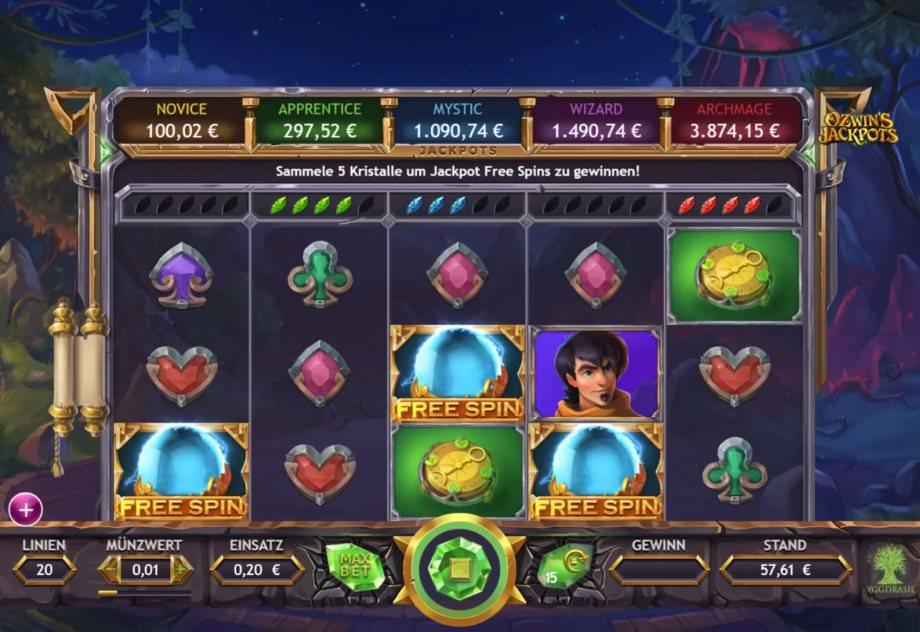 10 neue Slots von Microgaming, Merkur und Yggdrasil