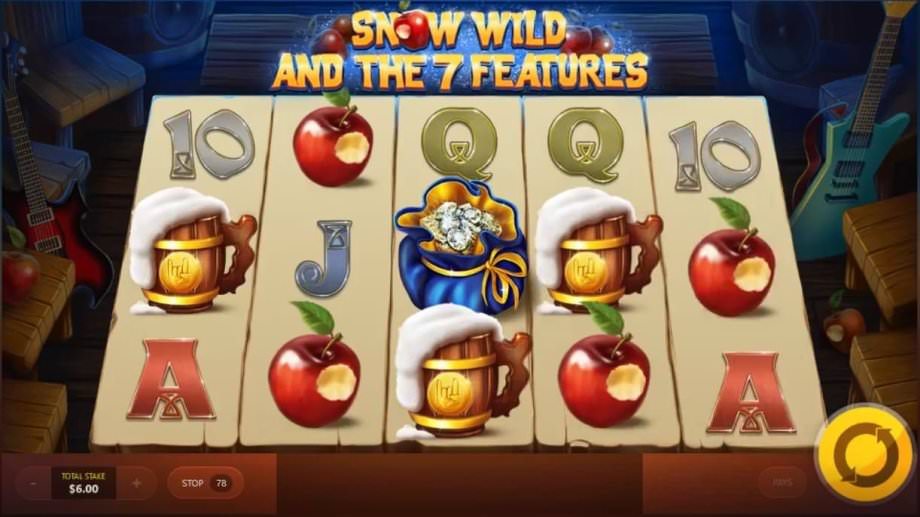 Red Tiger Spielautomat: Snow Wild and 7 Features