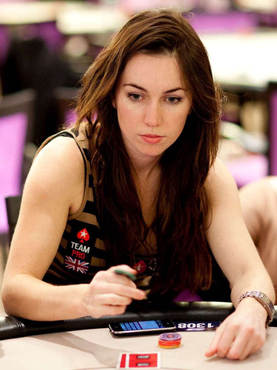 Liv Boeree beim European Poker Tour Event